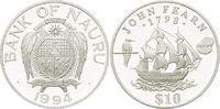 10 Dollars 1994, Nauru, Geschichte der Seefahrt - Fregatte von John Fea... 29,00 EUR kostenloser Versand