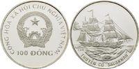 100 Dong 1991, Vietnam, Geschichte der Seefahrt, Besegeltes Dampfschiff... 32,00 EUR kostenloser Versand