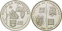 200 Escudos 1994, Portugal, Vertrag von Tordesilhas 1494 zwischen Spani... 24,00 EUR kostenloser Versand