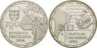 200 Escudos 1994, Portugal, Vertrag von Tordesilhas 1494 - Die Aufteilu... 24,00 EUR kostenloser Versand