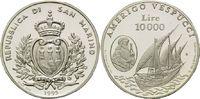 10.000 Lire 1995, San Marino, Amerigo Vespucci - Karacke 'Dauphine', PP... 25,00 EUR kostenloser Versand