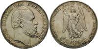 Vereinstaler 1871, Württemberg, Karl, 1864-1891, kl.Kr., kl.Fleck, vz-f... 190,00 EUR kostenloser Versand