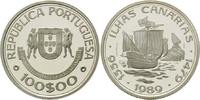 100 Escudos 1989, Portugal, Kanarische Inseln - Zeitalter der portugies... 24,00 EUR kostenloser Versand