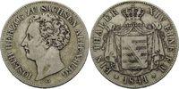 Vereinstaler 1841, Sachsen-Altenburg, Joseph, 1834-1848, ss  215,00 EUR kostenloser Versand