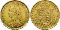 1/2 Sovereign 1892, Großbritannien, Victoria, 1837-1901, winz.Rdf., fei... 210,00 EUR kostenloser Versand