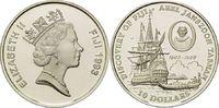 10 Dollars 1993, Fidschi, Fiji, Abel Janszoon Tasman - Entdecker der Fi... 29,00 EUR kostenloser Versand