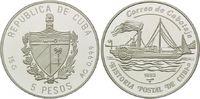 5 Pesos 1992, Kuba, Postgeschichte Kubas - Raddampfer Almendares, offen... 14,00 EUR kostenloser Versand