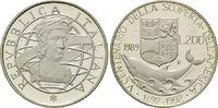 200 Lire 1989, Italien, 500 Jahre Entdeckung Amerikas, Kolumbus - Delph... 10,00 EUR  zzgl. 6,40 EUR Versand