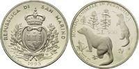 500 Lire 1993, San Marino, WWF, bedrohte Tierwelt - Iltisse, offene PP ... 10,00 EUR  zzgl. 6,40 EUR Versand