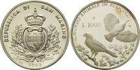 1000 Lire 1993, San Marino, WWF, bedrohte Tierwelt - Vögel, Turmfalke u... 11,00 EUR kostenloser Versand