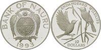 10 Dollars 1993, Nauru, WWF, bedrohte Tierwelt - Teichrohrsänger, offen... 32,00 EUR kostenloser Versand
