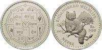 500 Rupien 1992, Nepal, WWF, bedrohte Tierwelt - Katzenbär, offene PP m... 29,00 EUR kostenloser Versand