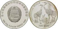 500 Won 1992, Nord Korea, WWF, bedrohte Tierwelt - Kraniche, PP angelau... 29,00 EUR kostenloser Versand