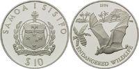 10 Tala 1994, Samoa, WWF, bedrohte Tierwelt - Flughund, PP minimal ange... 29,00 EUR kostenloser Versand