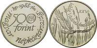 500 Forint 1988, Ungarn, 25 Jahre WWF, bedrohte Tierwelt - Wiesenweihe,... 26,00 EUR kostenloser Versand
