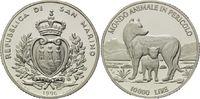 10.000 Lire 1996, San Marino, WWF, bedrohte Tierwelt - Wölfe, PP  26,00 EUR kostenloser Versand