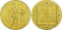 Dukat 1927, Niederlande, Wilhelmina I, 1890-1948, vz  175,00 EUR kostenloser Versand
