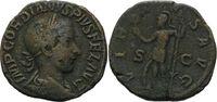 Sesterz 240, Römisches Reich, Gordian III., 238-244, dunkle Patina, ss  60,00 EUR kostenloser Versand