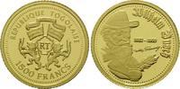 1500 Francs Goldmünze o.J., Togo, Wilhelm Busch - 1832 - 1908, PP  59,00 EUR kostenloser Versand