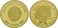 10 Won Goldmünze 2009, Nord Korea, Wunder der Welt - Terrakotta Armee i... 59,00 EUR kostenloser Versand