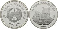 1000 Kip 2014, Laos, Tiger, PP minimal berührt  28,00 EUR kostenloser Versand