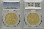 20 Dollars 1851, USA, Liberty Head Double Eagle, PCGS AU50  1920,00 EUR kostenloser Versand