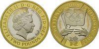 2 Pfund 2008, Großbritannien, Olympiade von Beijing nach London - Überg... 54,00 EUR kostenloser Versand