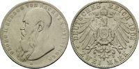 2 Mark 1902 D, Sachsen-Meiningen, Georg II, ss s.entf.Henkelsp.  120,00 EUR kostenloser Versand