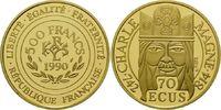 500 Francs Gold 1990, Frankreich, Charle Magne, Karl der Große 742 - 81... 729,00 EUR kostenloser Versand