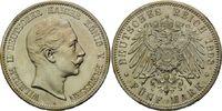 5 Mark 1908, Preussen, Wilhelm II, f.st  160,00 EUR kostenloser Versand