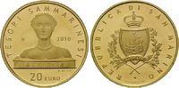 20 Euro 2010, San Marino, Kunstschätze in San Marino - Hl. Agatha, l.be... 325,00 EUR kostenloser Versand