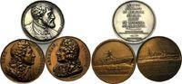 Lot von 3 Medaillen 1821-1973, Frankreich, Lot Numismatische Gallerie b... 25,00 EUR kostenloser Versand