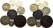Lot von 9 Münzen 1840-1960, Spanien Süd-Amerika, Spanien 2 Pesetas 1870... 30,00 EUR kostenloser Versand