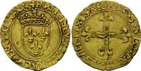 Ecu d`or au soleil o.J., Frankreich, Franz I, 1515-1547, Mzz. Anker. ss  830,00 EUR kostenloser Versand