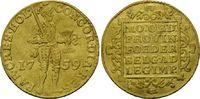 Dukat 1759, Niederlande, Holland, ss  349,00 EUR kostenloser Versand