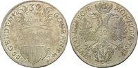 32 Schilling 1752 JJJ Lübeck Stadt ss+  120,00 EUR kostenloser Versand