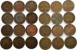 Lot 10 Cash(Wen) 1902-1920, China, Lot 12 Stück, Cent, Kaiserreich & Re... 59,00 EUR kostenloser Versand