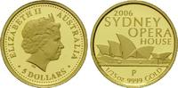 5 Dollars Gold 2006 P, Australien, 1/25 Unze, Sydney Opera House, Elisa... 74,00 EUR kostenloser Versand