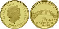 5 Dollars Gold 2007 P, Australien, 1/25 Unze, Sydney Harbour Bridge, El... 74,00 EUR kostenloser Versand