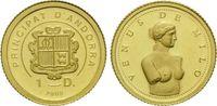 1 Denier Gold 2008, Andorra, Venus von Milo, PP  49,00 EUR kostenloser Versand