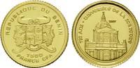 1500 Francs Gold 2007, Benin, 750 Jahre Universität de la Sorbonne, st  49,00 EUR kostenloser Versand
