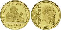 12,5 Euro Gold 2007, Belgien, 1/25 Unze, Leopold II, PP  109,00 EUR kostenloser Versand