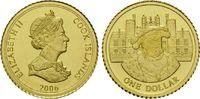 1 Dollar Gold 2006, Cook Inseln, 1/25 Unze, Heinrich der VIII von Engla... 60,00 EUR kostenloser Versand