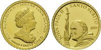 1 Dollar Gold 2007, Cook Inseln, Johannes Paul II, Santo Subito, PP  32,00 EUR kostenloser Versand