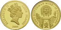 10 Dollars Gold 2006, Cook Inseln, 1/25 Unze, Lost Dutchman Mine, Elisa... 64,00 EUR kostenloser Versand