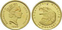 25 Dollars Gold 1990, Cook Inseln, 1/24 Unze, WWF Bedrohte Tierwelt - W... 60,00 EUR kostenloser Versand