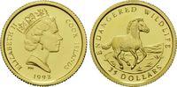 25 Dollars Gold 1992, Cook Inseln, 1/24 Unze, WWF Bedrohte Tierwelt - W... 69,00 EUR kostenloser Versand