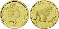 25 Dollars Gold 1992, Cook Inseln, 1/24 Unze, WWF Bedrohte Tierwelt - L... 69,00 EUR kostenloser Versand