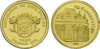 1500 Francs Gold 2006, Elfenbeinküste, Sanssouci, Ivory Coast, PP  49,00 EUR kostenloser Versand