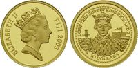 10 Dollars Gold 2007, Fidschi, 1/25 Unze, Fiji, Lost Treasure of King R... 59,00 EUR kostenloser Versand